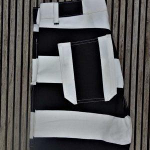 Pantalon-prisonnier-14oz-denim-rayé-noir-blanc-school-of-cool-detail 3