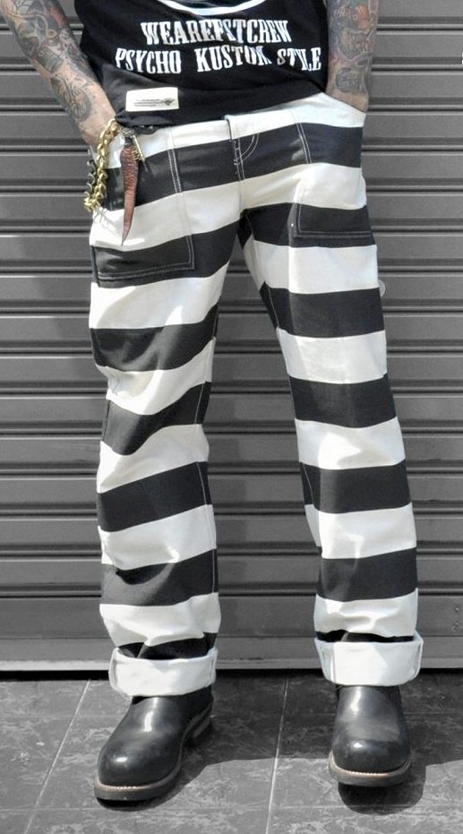 14 oz canvas prisoner trousers
