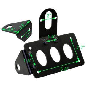 support-plaque-latéral-moto
