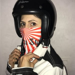 mASQUE HOMME FEMME BIKER JAPON BASARA STYLE