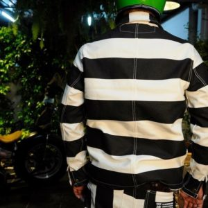 veste prisonnier moto biker