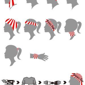 bandana Basara style drapeau japon