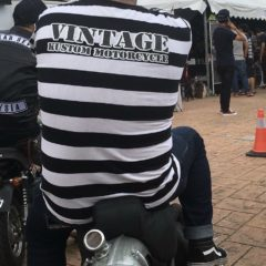 Tshirt Prisonnier Manches longues Rayures «Wanted»