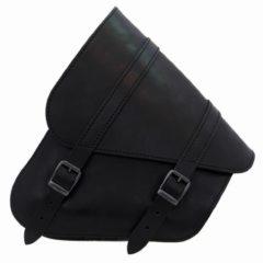 Sacoche Latérale Cuir Noir Softail /Swingarm Bag Softail Black Leather