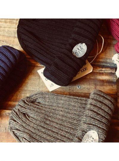 Bonnet prisonnier en laine style bagnard