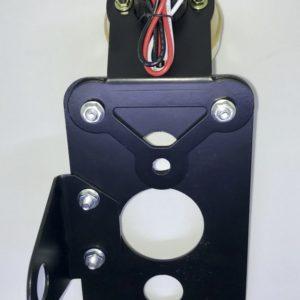 plaque latérale pour Chopper avec feu stop intégré