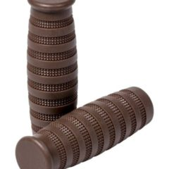 """Handgrips vintage """"Street Brown""""  for Ø 25 mm (1″)"""