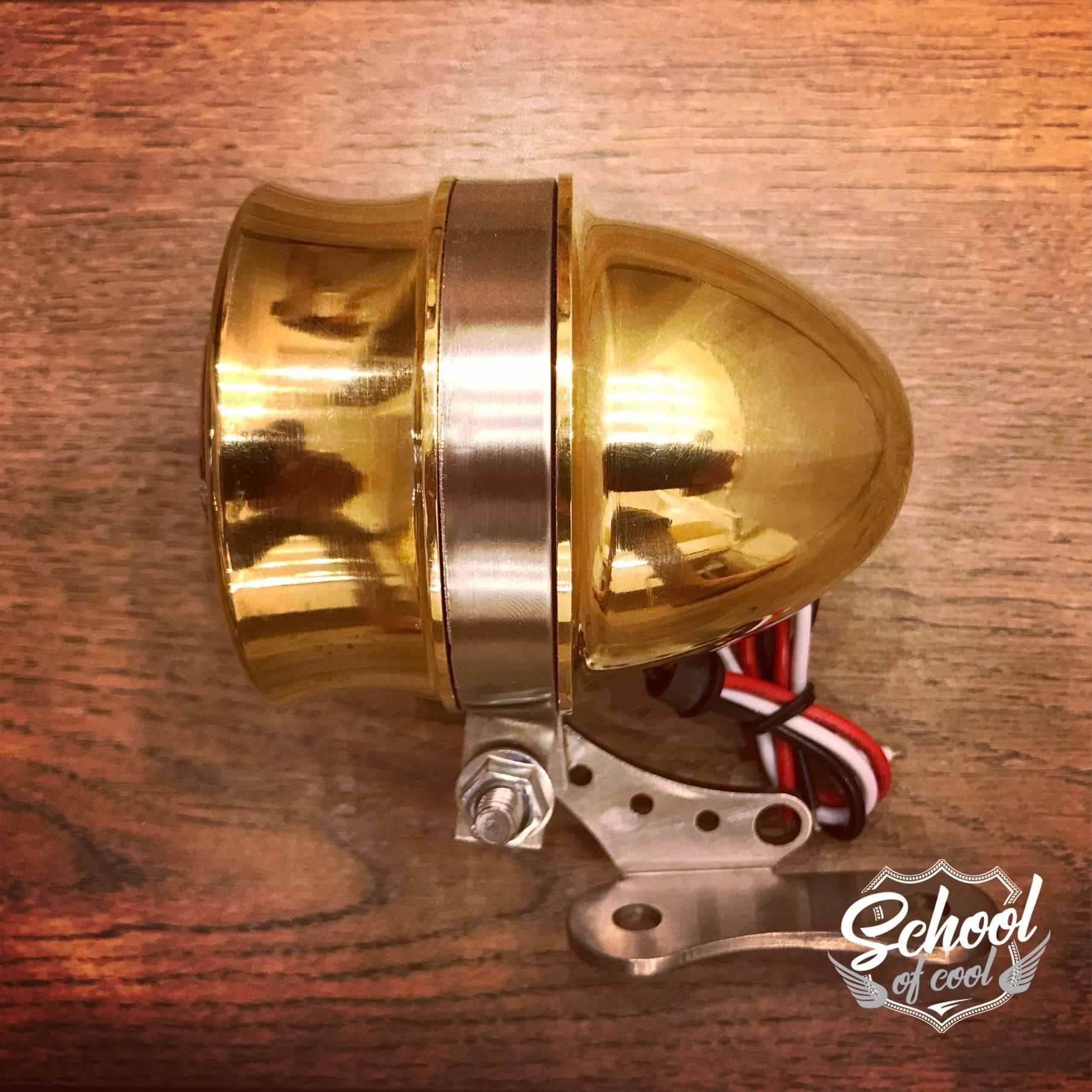 brass tailight vintage motorcycle. Black Bedroom Furniture Sets. Home Design Ideas