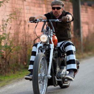 Pantalon-biker-prisonnier-bagnard-forcat-cuir-mappa-harley-davidson