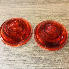 Cabochons Rouges Vintage pour clignotants