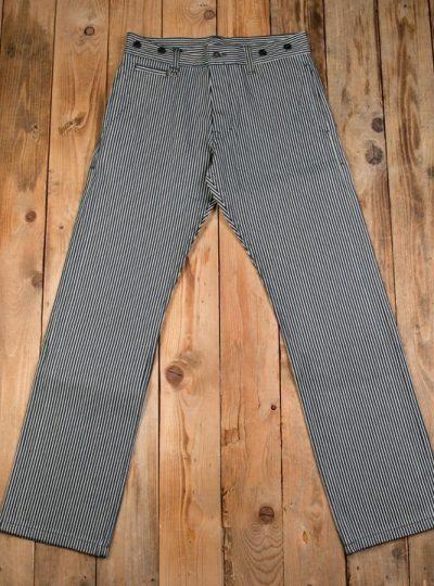 pantalon-rayé-long-prisonnier-denim-12oz-front