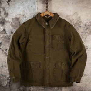 veste-militaire-vintage-déserteur-kaki-1946