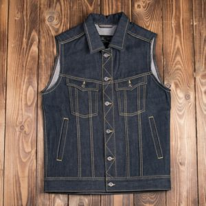 Gilet-jeans-denim-1963-Roamer-Vest-11oz-pike-brother-metal-seul