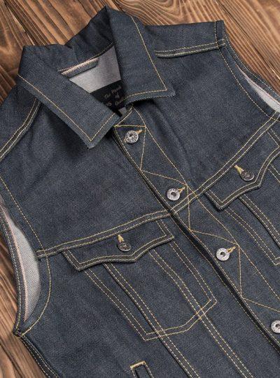 Gilet-jeans-denim-1963-Roamer-Vest-11oz-pike-brother-metal-coutures