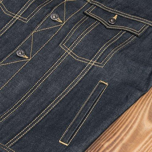 Gilet-jeans-denim-1963-Roamer-Vest-11oz-pike-brother-metal-detail-coutures