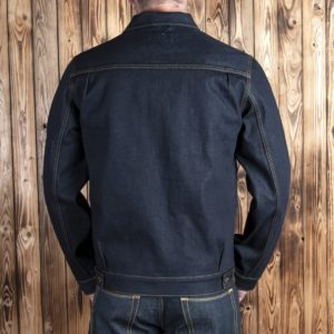 Veste-mineur-denim-vintage-1908-19oz Kurabo-pike-brothers-school-of-cool-back
