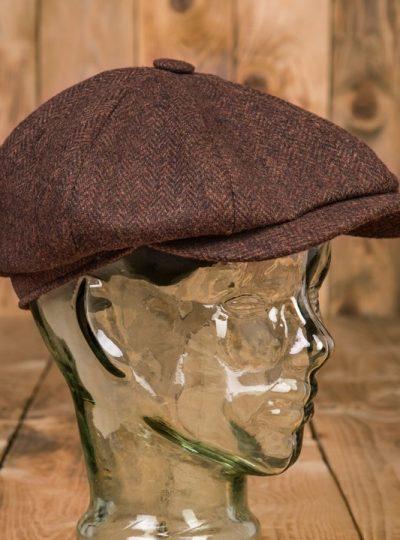 casquette-vintage-pure- laine-newsboys-1928-chevrons-school-of-cool-coté