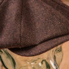 casquette-vintage-pure- laine-newsboys-1928-chevrons-school-of-cool-detail
