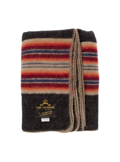 blanket-Mexican-plaid-pure-wool-pike-brother-1969-denakatee-motorcycle-details