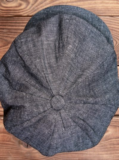 casquette-1928-vendeur-journaux-pike-brothers-1928-grise-fumée-dessus