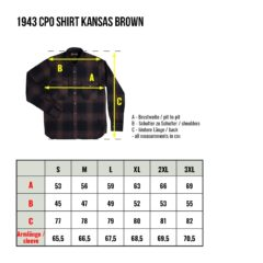 Chemise-Marin-coton-Pike-Brother-Kansas-brown