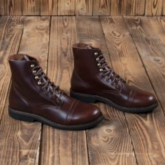 bottes-cuir-1966-low-quarters-cognac-oiled-school-of-cool-pike-brothers