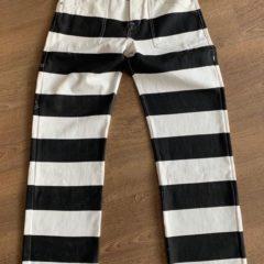Pantalon Prisonnier femme Vintage Denim