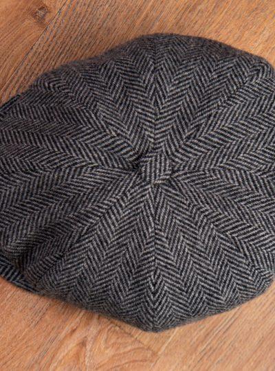 1928 Newsboy Cap Colonial grey-3 -Custom--ID-10543