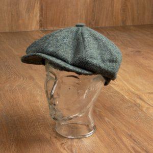 1928 Newsboy Cap Suffolk green