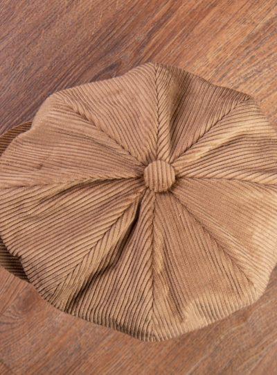 casquette-velours-cotelé-homme-sable-vintage-vendeur-journaux-1928-Cap-cord-sand-pike-brother