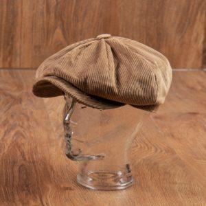 casquette-velours-cotelé-homme-sable-vintage-vendeur-journaux-1928-Cap-cord-sand-pike