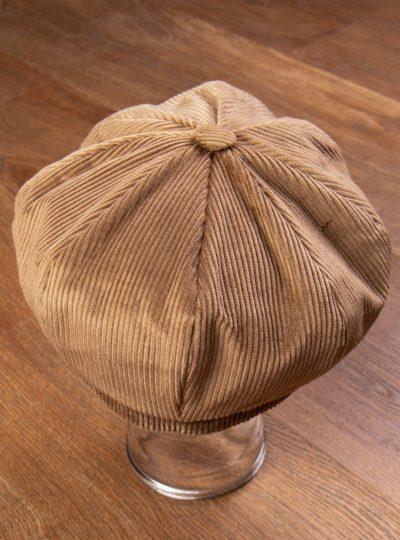 casquette-velours-cotelé-homme-sable-vintage-vendeur-journaux-1928