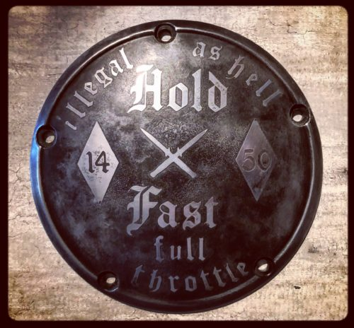 Clutch-cover-engraved-HOLD-FAST