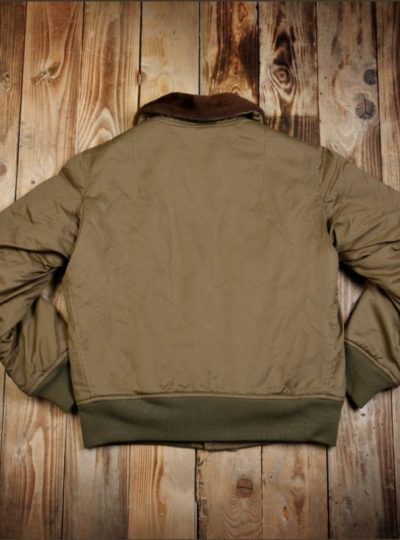 Blouson-pilote-aviateur-1945-bombardier-olive-pikebrothers-dos
