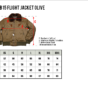 Blouson-pilote-aviateur-us-army-1945-vintage-grille-taille-Pike Brothers