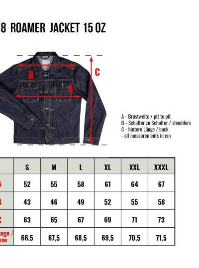 1958-Roamer-Jacket-15oz-indigo-grille-taille