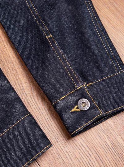 Veste-blouson-1958- Roamer-Jacket 15oz-indigo-Pike-Brothers-detail-manche
