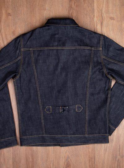 Veste-blouson-1958- Roamer-Jacket 15oz-indigo-Pike-Brothers-dos