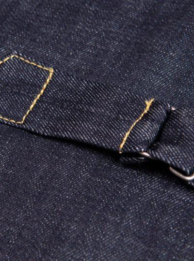 Veste-blouson-1958- Roamer-Jacket 15oz-indigo-Pike-Brothers-martigale