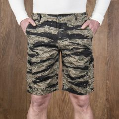 Jungle-Short-Tiger-rayé-1966-pike-brother-militaire-us-navy-vintage